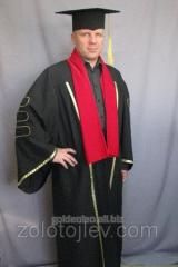 Professor's cloak black