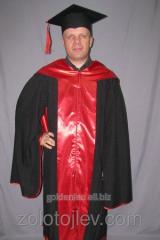 The academic cloak with hood