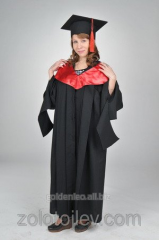 The academic cloak with hood