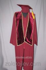 Cloak claret scarf from velve