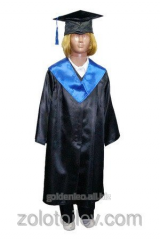 The graduate's cloak for the child growth 116