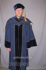 Professor's cloak blue