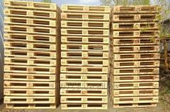 Поддоны  деревянные 1200 х 800  лицензия UIC