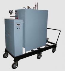Mobile steam generator. The mobile steam generator