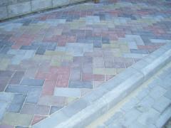 Тротуарная плитка вибролитая Днепропетровск