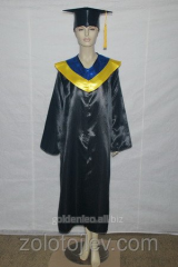 Hire of cloaks of graduates of the master of the