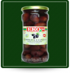 Olives of kalamat the sterilized 0,370 unpitted l