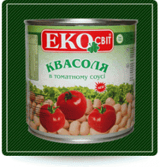 Baked beans in tomato sauce Ekosv_t 0,425l can