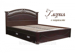 "Bed ""Gloria"" with boxes for"