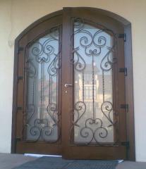 Products are shod. Fences, gate, lattices, a