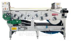 Tape press for fruit of 6000 kg/h