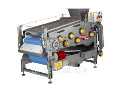Tape press for fruit of 700 kg/h