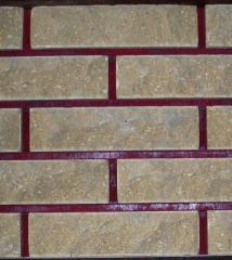 Brick SCALA, facing with the invoice, of a safari