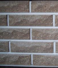 Brick SCALA, facing with the invoice, brown