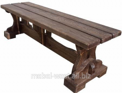Benches from a tree, the Wooden bench the Estate.