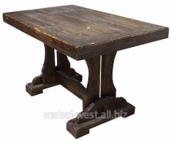 Кухонные столы под старину, Деревянный стол Йорк-1