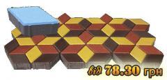 Тротуарная плитка : брусчатка гранитная