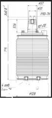 Vacuum KDVA-10-40/3150 UHL2 arc extinguish chamber