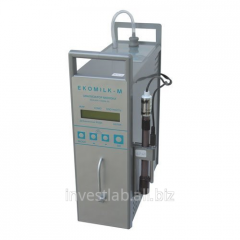 Analyzer of milk of ultrasonic EKOMILK of M (80