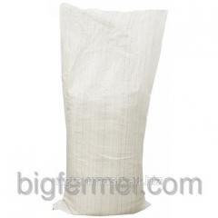 Bag of polypropylene white 50 kg new.