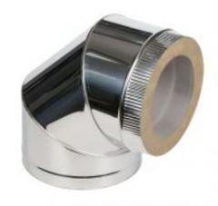 Дымоход голый толщина металла 1 мм (AISI 201)  или 409