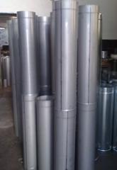 Дымоход голый для гильзовки кирпичных каналов, толщина металла 0,8 мм AISI 304