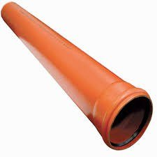 Pipe PVC for the stormwater drainage system 110