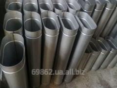 Дымоход не утепленный толщина металла 1 мм (AISI 304)