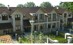 Two-level apartment, area 97,24m2