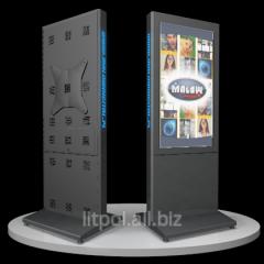 Мультимедийный рекламный киоск LED серии DP/DM