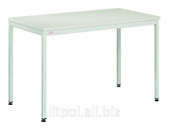 The table is office rectangular