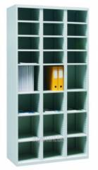 Шкаф с ячейками для сортировки и хранения...
