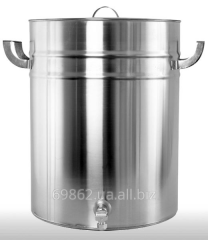 Food capacity from stainless steel