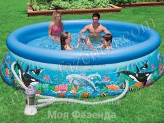 Inflatable pool of Intex Ocean Easy Set Pool (B-15