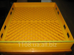 Tray plastic multireverse for delivery of bakery