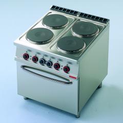 Плита электрическая 4-х конфорочная с духовкой.