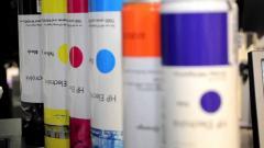 HP ElectroInk paints