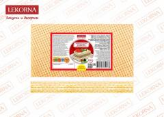 Wafer sheets the Family of 150 g (10 packs in box)