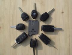 Изготовление чипов для автомобильных ключей.