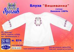 Блуза детская Вышиванка, разм. 32 (122-128 см)