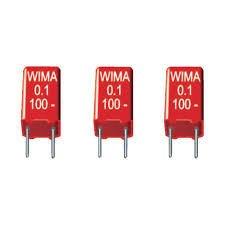 RM5% MKS 2 3.3 uF 50V 10 condenser