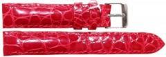 Ремешок для часов из кожи крокодила (ALWS 01 Red)