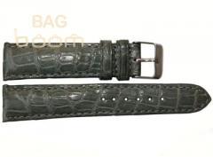 Ремешок для часов из кожи крокодила (ALWS 02 Grey)