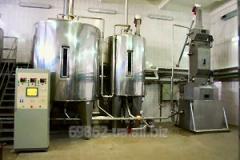 Equipment for beer factory