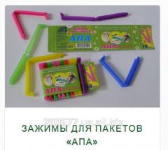 Зажимы для пакетов «АПА»