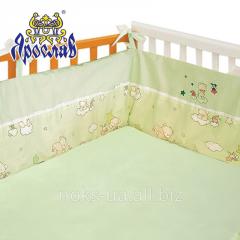 Защита для детской кроватки ТМ Ярослав, Голубой