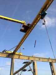 Crane beam suspended, basic.