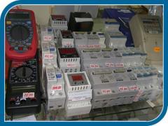 Автоматы защиты сети, АЗР, автоматы, счетчики,