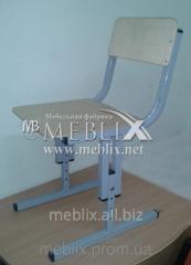 Детские стулья для детских садов, дошкольных учреждений регулируемые по высоте