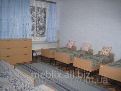 Кровать детская одноместная для детского сада